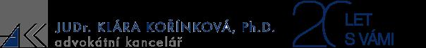 JUDr. Klára Kořínková, Ph.D.
